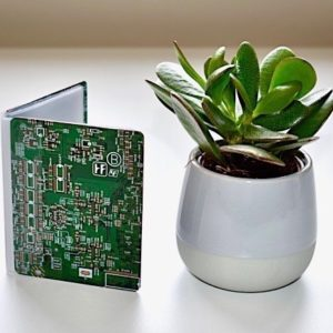 Circuit Board Credit Card Holder