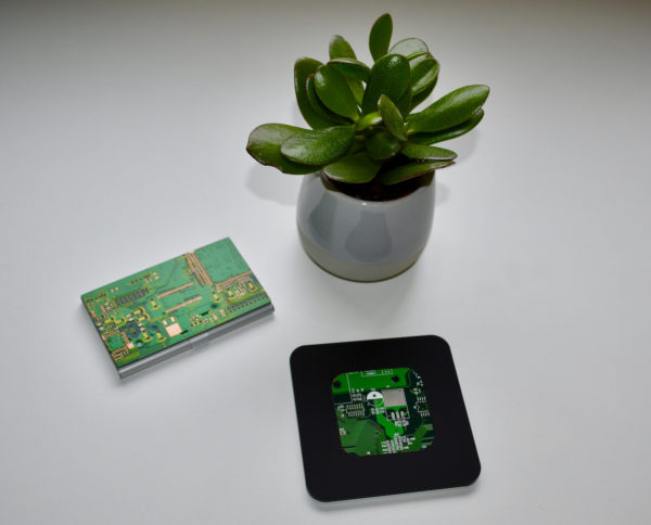 Green CB and Acrylic Coasters