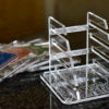 Clear Acrylic Coaster Holder