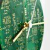 Circuit Board Clock-Round