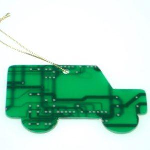 Circuit Board Landrover Decoration