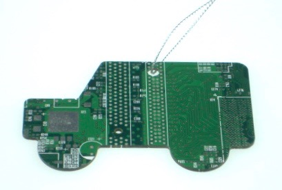 Circuit Board Landrover Decoration