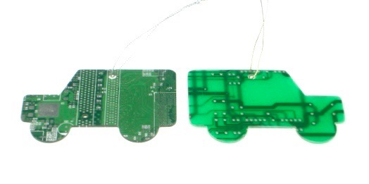 Circuit Board Landrover Decoration x 2