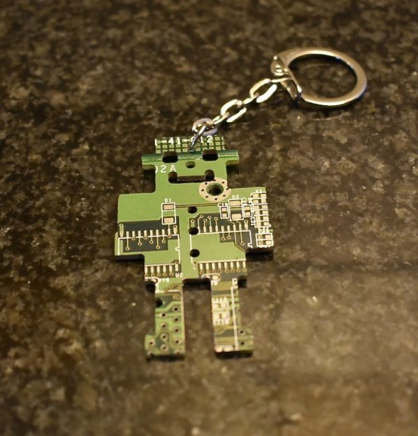 Circuit Board Robot Green