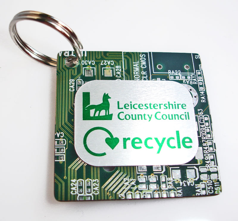 Bespoke Circuit Board Key Ring