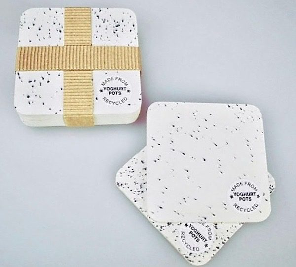 Yoghurt Pot Coasters