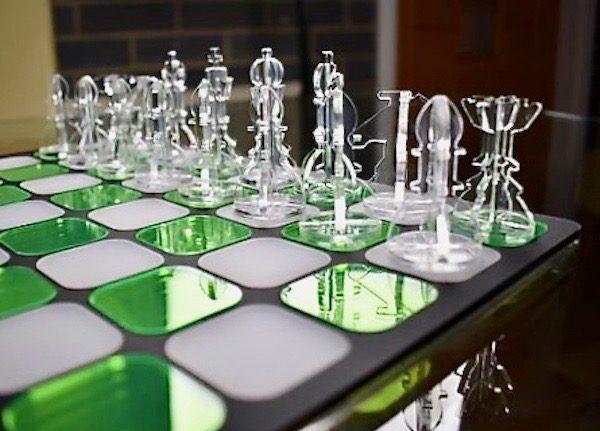 Acrylic Chess - Crystal Clear