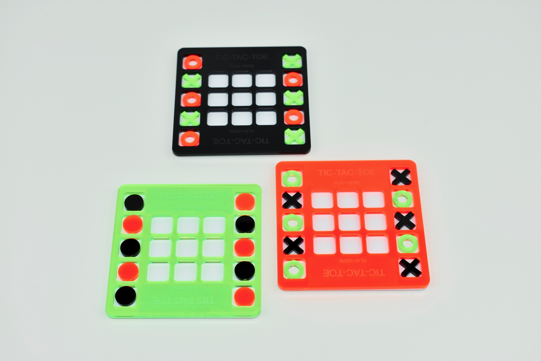 Tic Tac Toe Coaster