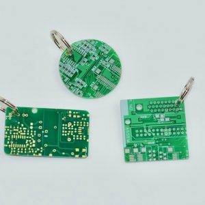Circuit Board Key Rings