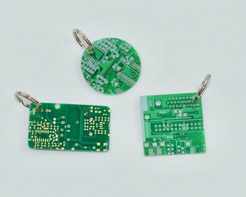 Circuit Board Key Rings