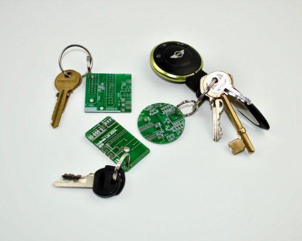 Circuit Board Keyring
