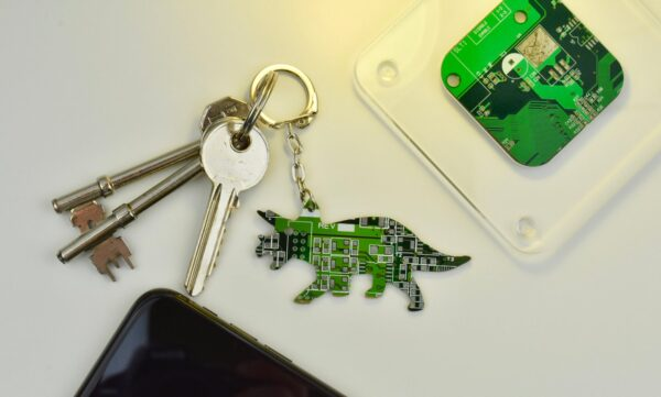 Circuit Board Triceratops